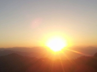 Beautiful Sunrise View From Poon Hill- Early In The Morning.