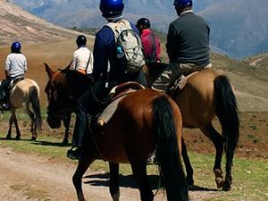 Horse Riding Cusco - 4 Ruins Tour