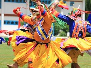 Paro Tshechu (Festival) Photos