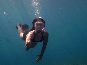 Snorkeling & Diving at Open Sea of Mount Krakatau Photos