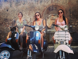 Vespa Tour in Rome - Winter 2014 Photos