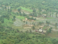 Raigarh Village From Top