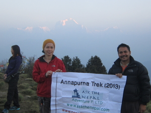Ghorepani Trek With Yoga Photos