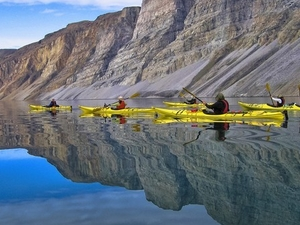 Kayaking Amongst Greenland's Icebergs