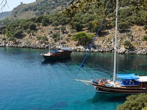 Blue Cruise Turkey Gulet Yacht Charter Photos
