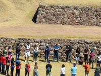 The Sacred Valley Near Cuzco And Machu Picchu