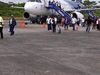 Arrival At Puerto Maldonado Airport