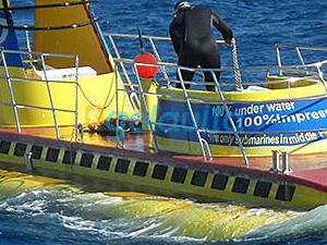 Sindbad Submarine Photos