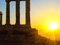 Cape Sounio (sunset tour)