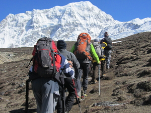 Tyangboche Family Trekking-9 Days Photos