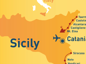 On Sicily Old Travelers' Footsteps (Self-guided Trekking)