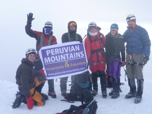 Urus, Ishinca, Tocllaraju Climbing Peru Photos