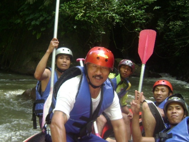 White Water Rafting Ayung River Photos