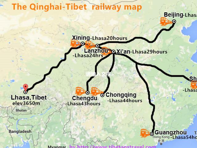Tibet Train Tour in 2017 Photos