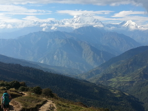 Easy and Best Trek in Nepal Photos
