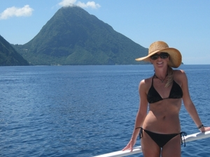 St Lucia Catamaran Day Sail Photos