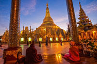 3-Day Best of Yangon Private Tour with Evening Shwedagon Pagoda Visit Photos