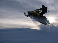 Advanced Backcountry Snowmobile Expedition Photos