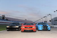 American Muscle Car Challenge at the Las Vegas Motor Speedway Photos