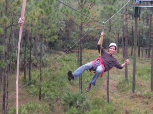 Zipline Safari at Forever Florida  Photos