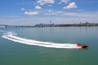 Auckland Shore Excursion: Jet Boat Ride on Waitemata Harbour Photos