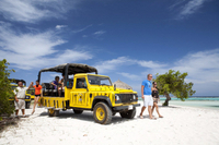 Baby Beach Jeep Adventure Photos