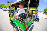Bangkok in Motion: City Tour by Skytrain, Boat and Tuk Tuk Photos