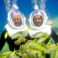 Belize Sea Trek Underwater Tour from Ambergris Caye Photos