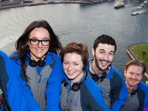 Sydney BridgeClimb: Mardi Gras Disco Climb Photos