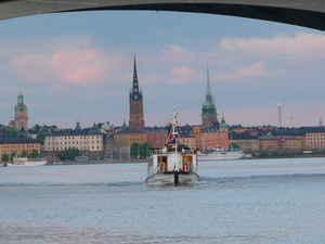 Stockholm Bridges Cruise Photos