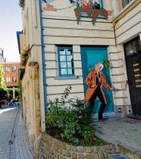 Brussels Street Comics Highlights Tour Including Belgian Comic Strip Center Photos