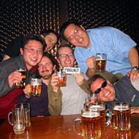 Budapest Pub Crawl Photos