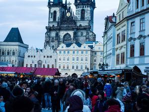 Prague City Hop-On Hop-Off Tour With Optional Vltava River Cruise and Walking Tours  Photos
