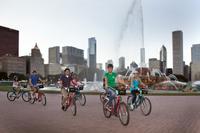 City Lights at Night Bicycle Tour Photos