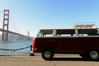 Classic VW Van Tour of San Francisco Photos