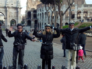 Rome Segway Tour Photos