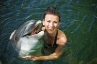 Cozumel Dolphin Swim at Chankanaab National Park Photos