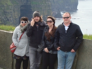 Limerick, Cliffs of Moher, Burren and Galway Bay Rail Tour from Dublin Photos