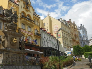 Czech Spas of Karlovy Vary and Marianske Lazne from Prague Photos