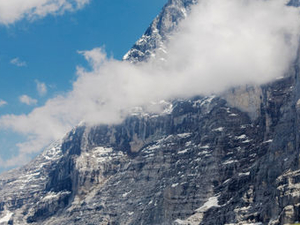 Eiger - Jungfrau Glacier Panorama View (from Zurich) Photos