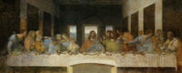 Entrance to Leonardo da Vinci's 'The Last Supper' in Milan Plus Interactive Workshop Photos