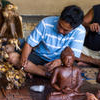 Experience Bali: Private Craft, Food and Massage Tour