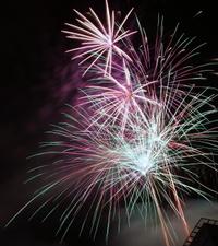 Fireworks Air Tour Over Orlando's Theme Parks Photos