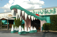 Gatorland Ticket with Transport Photos