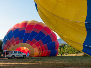 Hot Air Balloon Flight over Catalonia Photos