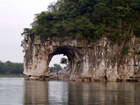 Guilin Half Day Tour including Li River, Reed Flute Cave and Elephant Hill Photos