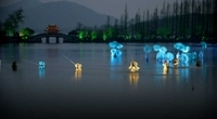 Hangzhou Night Tour: Dinner and 'Impression West Lake' Show Photos