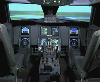 Hong Kong Flight Simulator Experience Photos