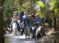 Horseback Riding at Forever Florida Eco-Reserve Photos
