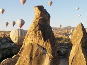 Cappadocia Hot Air Balloon Ride Photos